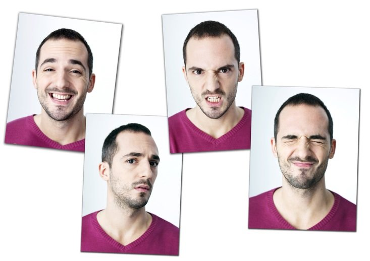 Man expressing different emotions CanadianPharmacyMeds.com