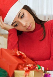 Depressed woman during the Holidays CanadianPharmacyMeds.com