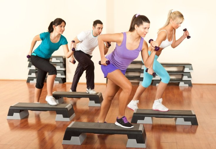 Women in a workout class CanadianPharmacyMeds.com